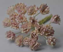 PALE DUSKY PINK GYPSOPHILA / FORGET ME NOT Mulberry Paper Flowers